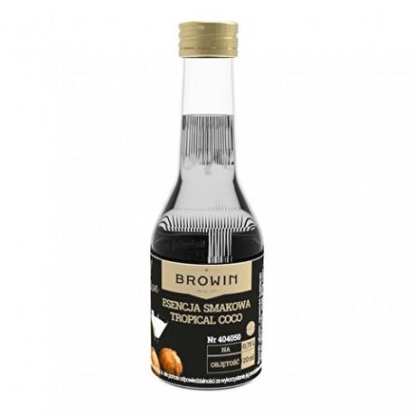 BROWIN Esencja smakowa - Likier z kokosó w tropikalnych na 0,75L alk. - 20ml
