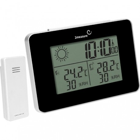 BROWIN Stacja pogody RCC - termometr/hig rometr z zegarem