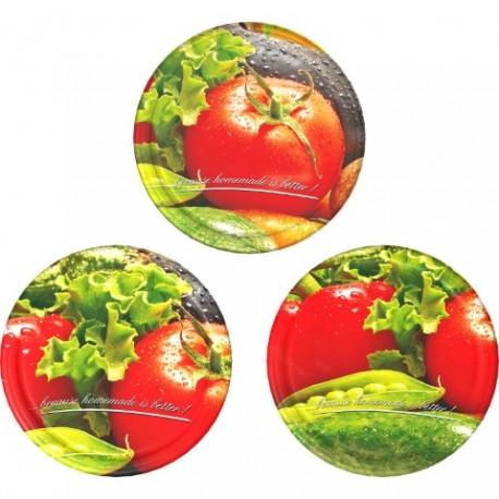 BROWIN Zakrętka ?66 - 10 szt. - pomidor