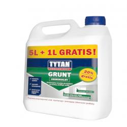 TYTAN GRUNT UNIWERSALNY 5L+1L GRATIS!
