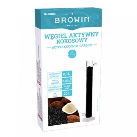 BROWIN Węgiel aktywny kokosowy 0,9 L