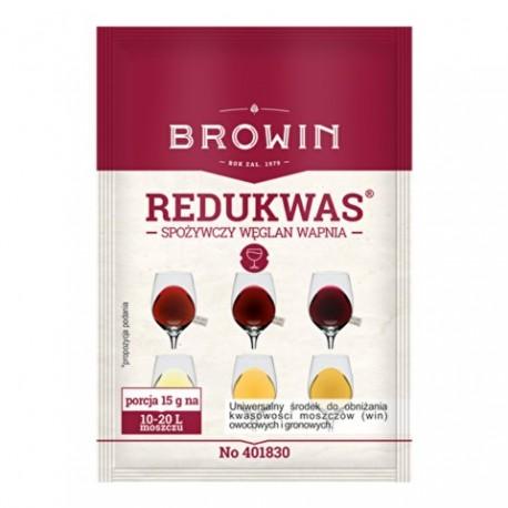 BROWIN Węglan wapnia – regulator kwasowo ści – 15g