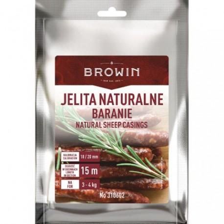 BROWIN Jelita naturalne baranie - kalibr acja 18-20mm – 15m