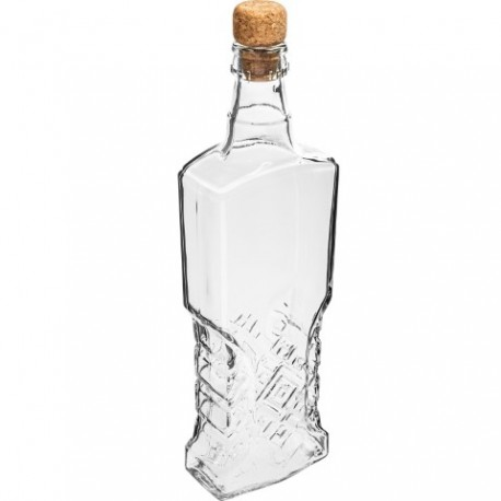 BROWIN Butelka Kredensowa 500ml z korkie m