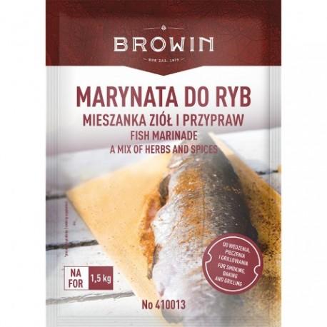 BROWIN Marynata do ryb-mieszanka ziół i przypraw-120g