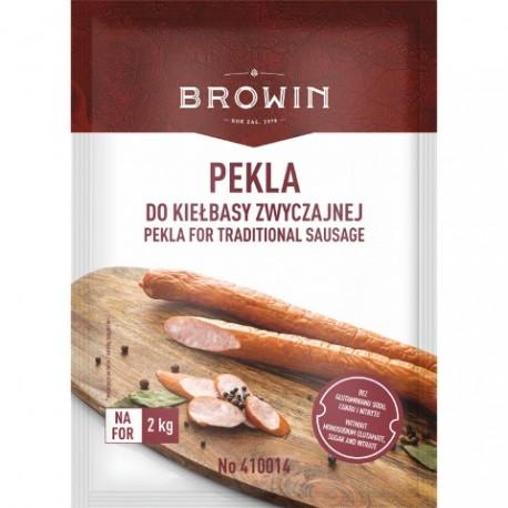 BROWIN Pekla do kiełbasy zwyczajnej z zi ołami-65g