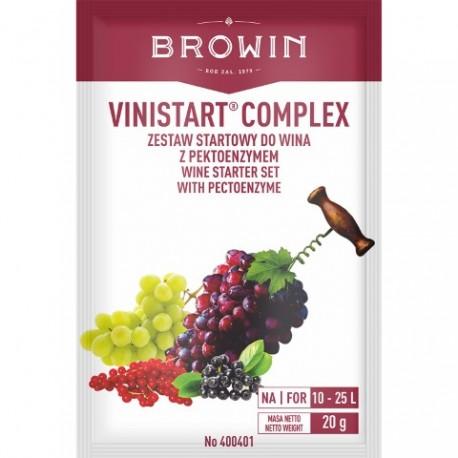 BROWIN VINISTAR COMPLEX-ZESTAW STARTOWY DO WINA-20G