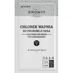 Chlorek wapnia DO PRODUKCJI SERA 10g BROWIN