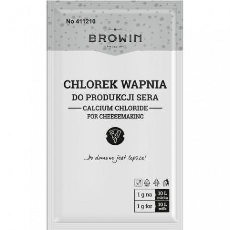 BROWIN Chlorek wapnia -10g