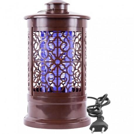 BROWIN Lampa owadobójcza - orientalna 3W , 24cm, brązowa