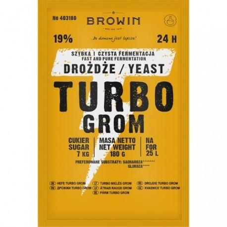 BROWIN Drożdże gorzelni.TURBO BROWIN 180 g.