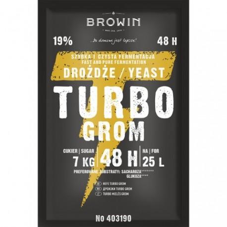 BROWIN Drożdże gorzelni.TURBO BROWIN 150 g.