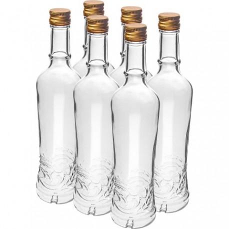 BROWIN Butelka Złoty Łan 500ml z zakrętk ą,6szt