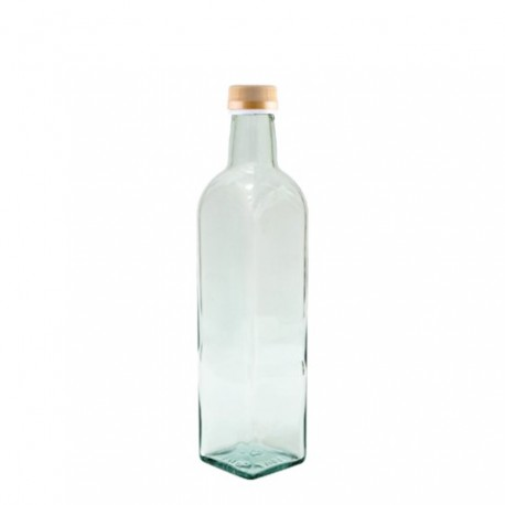 "BROWIN Butelka szklana ""Marasca"" 0,75l"