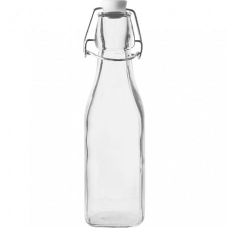 BROWIN Butelka 250 ml z hermetycznym zam knięciem - kwadratowa