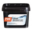 Lakier dekoracyjny bezbarwny mat 3l FOX