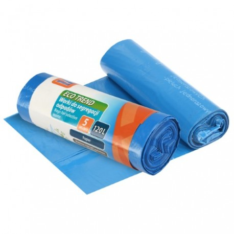 RAVI Worki Eco Trend 120L ,5szt papier