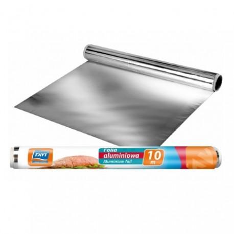 RAVI Folia aluminiowa 10mx29cm rolka