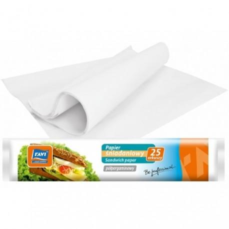 RAVI Papier śniadaniowy 23x33 cm 25ark.