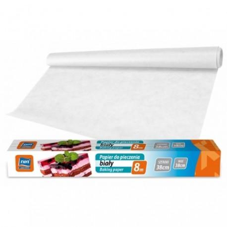 RAVI Papier do pieczenia biały 38cmx6m + 2m gratis