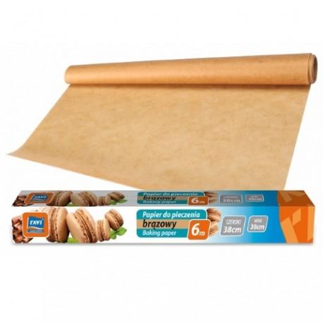 RAVI Papier do pieczenia brązowy S 38cm x 6 m
