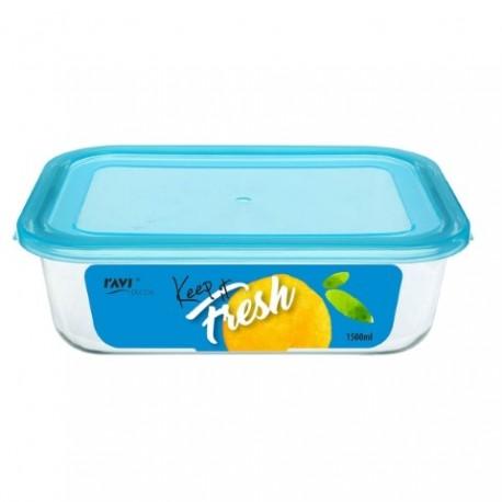 RAVI KEEP IT FRESH Pojemnik na żywność 1 500ml (prostokątny) art. 41472
