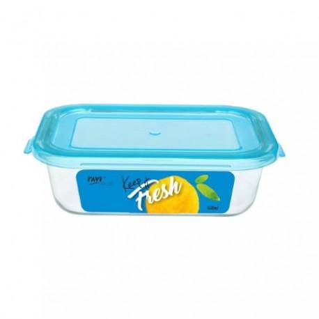 RAVI KEEP IT FRESH Pojemnik na żywność 6 50ml (prostokątny) art. 41470