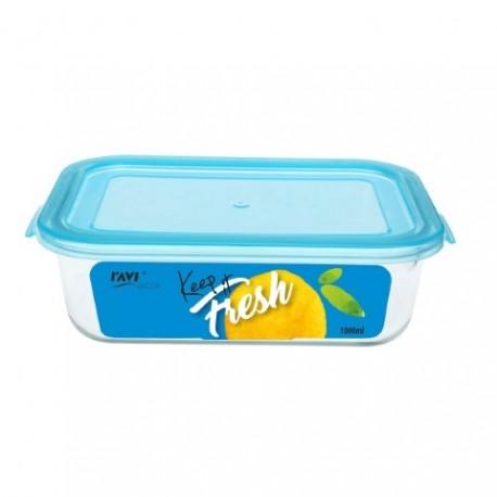 RAVI KEEP IT FRESH Pojemnik na żywność 1 000ml (prostokątny) art. 41471