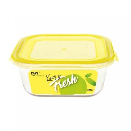 RAVI KEEP IT FRESH Pojemnik na żywność 8 00ml (kwadratowy) art. 41475