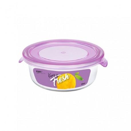 RAVI KEEP IT FRESH Pojemnik na żywność 400ml (okrągły) art. 41477