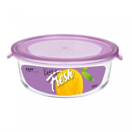 RAVI KEEP IT FRESH Pojemnik na żywność 9 50ml (okrągły) art. 41479