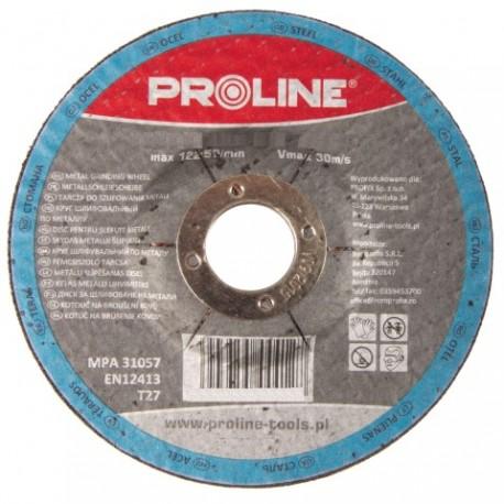 PROFIX TARCZA DO SZLIFOWANIA METALU, T27 , 115x6.0x22A24R PROLINE