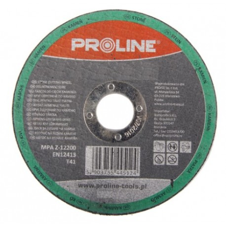 PROFIX TARCZA DO CIĘCIA KAMIENIA, T41 , 230x3.0x22C30S PROLINE