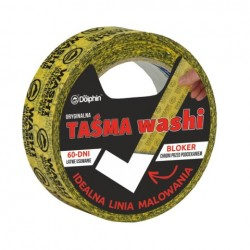 TAŚMA MALARSKA WASHI 35MMX25MM BLUIE DOLPHIN