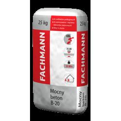 ZAPRAWA MOCNY BETON B20 25KG FACHMANN
