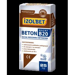 ZAPRAWA BETNOWA BETON MOCNY B20 25kg IZOLBET
