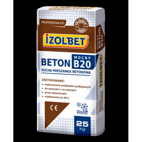 IZOLBET BETON MOCNY B20 25kg