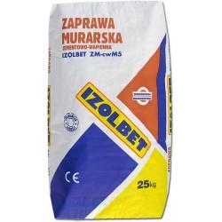 Zaprawa murarska cementowo-wapienna 25 kg IZOLBET ZM cwM5