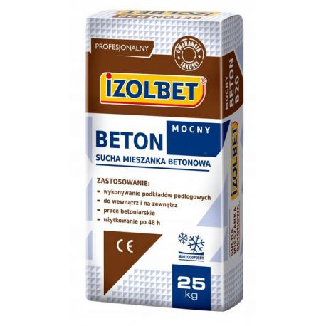 IZOLBET BETON MOCNY B30 25kg