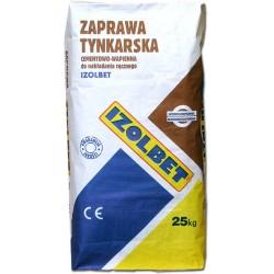 Zaprawa tynkarska 25 kg IZOLBET