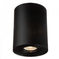 Oprawa sufitowa tubka ruchoma czarna szczotkowana IVO OZZO