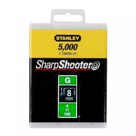 """$STANLEY Zszywka G 8mm/5/16"""" HD 5,000s zt Typ G 4/11/140"""