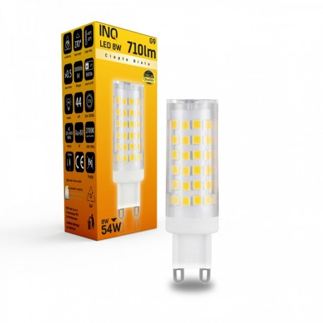 LAMPA LED G9 LED 8 TOWER 710LM 2700K INQ