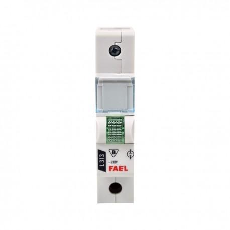 Lampka sygnalizacyjna FAEL zielona L313 B230V