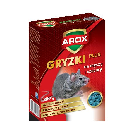 AROX MYSZY-KOSTKA 200G NA MYSZY I SZCZUR Y