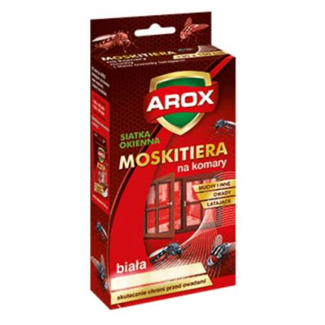 1012-AROX MOSKITIERA 150X180 BIAŁA +RZEP