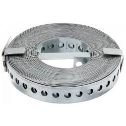 Taśma łącznikowa metalowa ocynk 17mmx10m GAH