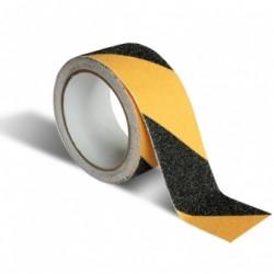 Taśma przeciwpoślizgowa samoprzylepna 10mx50mm żółta /czarna