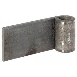 Zawias do przyspawania do bram 13/80mm