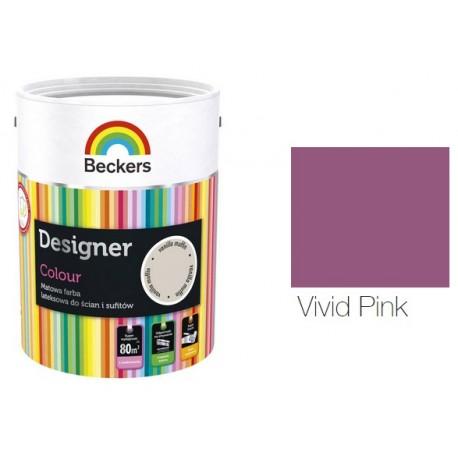 BECKERS DESIGNER COLOUR VIVID PINK 5L W